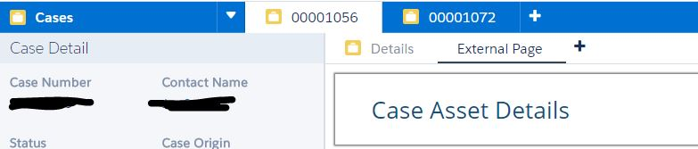 Console App - Case to Case Asset record creation